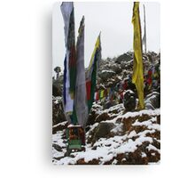 winter. indian himalaya Canvas Print