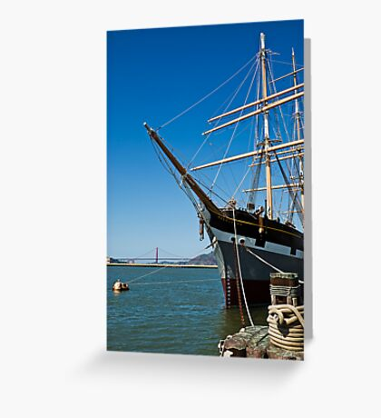 The Balclutha, San Francisco Greeting Card