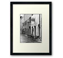 Bar Firenze Framed Print