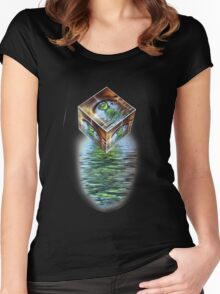 The Eye of the Beholder Women's Fitted Scoop T-Shirt