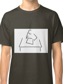 student schoolboys thinker learn Classic T-Shirt