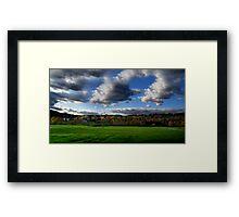 Vermont Landscape Framed Print
