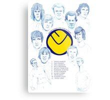 Leeds United FA Cup Metal Print