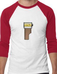 I love film Men's Baseball ¾ T-Shirt