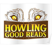 Howling good reads bookstore logo The Others reading series fan art Poster