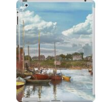 Boat - Rockport Mass - Motif Number One - 1906 iPad Case/Skin