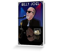 Billy Joel America Tour 2015 Greeting Card
