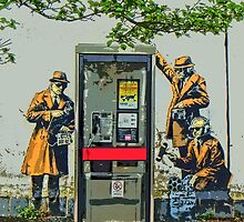 GCHQ listening post by Banksy by Tim Constable