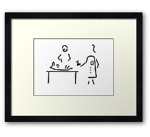 veterinarian veterinary medicine surgeon Framed Print
