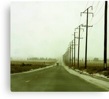 LA Snowfall Canvas Print