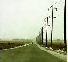 LA Snowfall Photographic Print