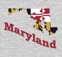 maryland state flag by peteroxcliffe