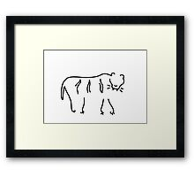 tiger Africa Framed Print