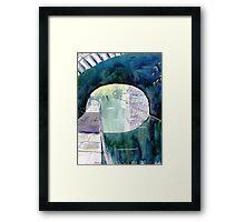'Neath the Arches, Skipton Canal Framed Print