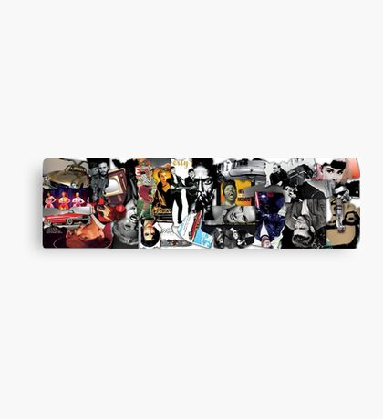 50s Collage 2 Canvas Print