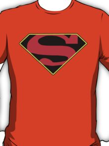 Superman Symbol Post Convergence Symbol T-Shirt