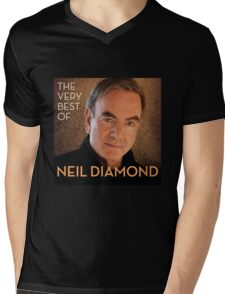 Neil Diamond Concert tour 2015 Mens V-Neck T-Shirt