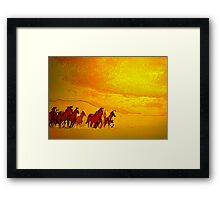 Windcatchers'... Framed Print