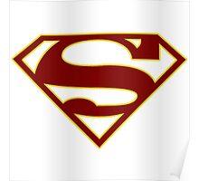 Supergirl CBS Sybol Shirt Poster