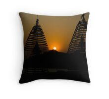 Scented Sunset Throw Pillow