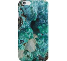 Botryoidal Chrysocolla with Malachite iPhone Case/Skin