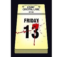 Crystal Lake Calendar Photographic Print