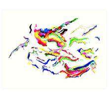 'tropical cyclone' Art Print