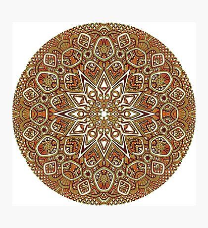 Beautiful Mandala Photographic Print