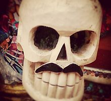 Mexican Skull #dayofthedead by kayfont