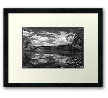 Pond, Late Spring Framed Print