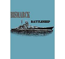 Battleship Bismarck Photographic Print