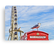 Brighton seafront Canvas Print