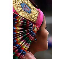 head dress. northern india Photographic Print