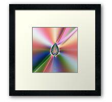 'Kirlian Seed' Framed Print