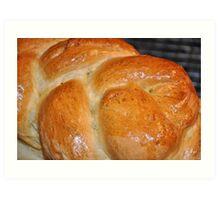 Hmmmmm........Fresh Bread Art Print