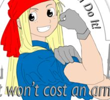 Winry the Riveter Sticker