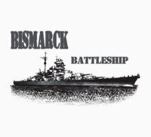 german Battleship Bismarck Kids Clothes