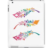 Stained Glass Feathers iPad Case/Skin