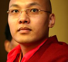 karmapa. mcleod ganj, india by tim buckley | bodhiimages
