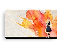 Natsu Fairy Tail Paint Canvas Print