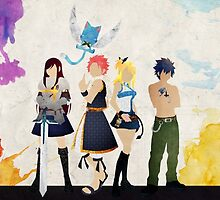 Fairy Tail Friends  by Athen Stringer