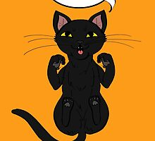 Trap Cat (Black Cat) by ErinA2