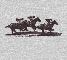 Horse Races One Piece - Short Sleeve