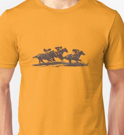 Horse Races Unisex T-Shirt
