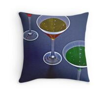 Stop When You Get to RED! Throw Pillow