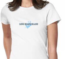 LBI - Long Beach Island NJ. Womens Fitted T-Shirt