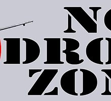 No Drone Zone No. 1 by EyeMagined