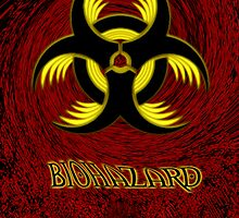 BIOHAZARD; book cover by Windcrest