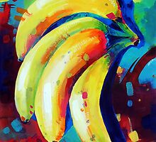 Bananas by Sandra Trubin