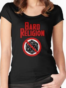 Bard Religion Women's Fitted Scoop T-Shirt